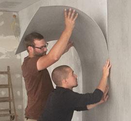 imi-beton-Matte-ankleben